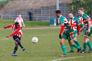 27/02/2016 Guildford City Fc v Windsor. Tyrame HEMMINES