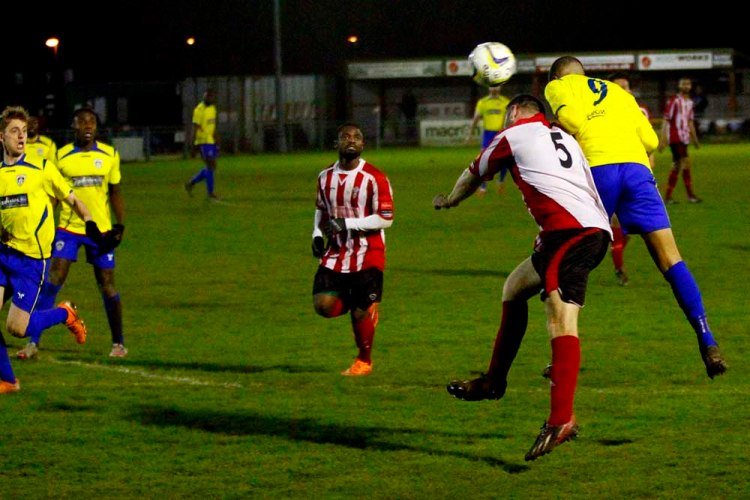 01/03/2016 Redhill FC v Guildford City. City won 0-1.