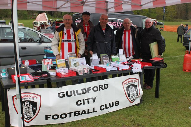 Stand at Shalford Park