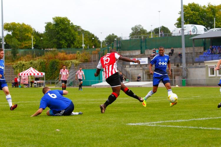 GCFC v CHUFC FA Cup Akanbi