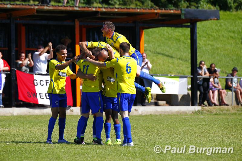 06/08/2016. Mile Oak v GCFC FA Cup Preliminary Round