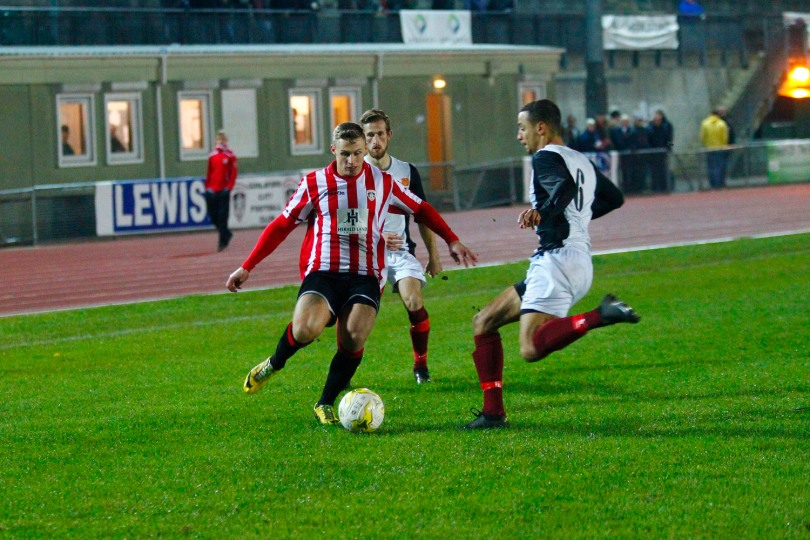 02/11/2016. Guildford City v Balham. League Cup Action