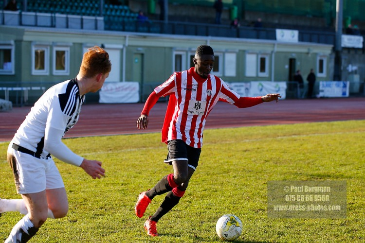 02/01/2017.  Guildford City FC v Abbey Rangers